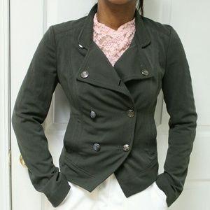 Express Dark Green Blazer Jacket Size 4